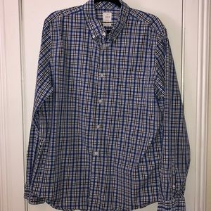 Gap Lived-In size XL button down shirt